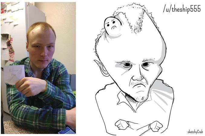 Καρτουνίστας δημιουργεί καρικατούρες ανθρώπων που τον προκαλούν (21)