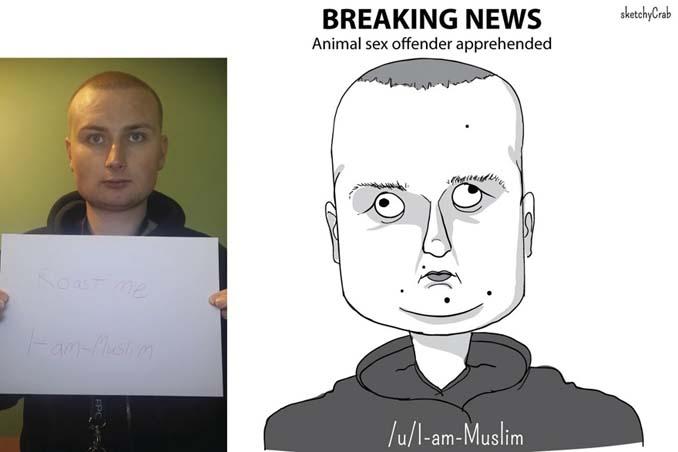 Καρτουνίστας δημιουργεί καρικατούρες ανθρώπων που τον προκαλούν (23)