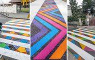 Διαβάσεις πεζών στη Μαδρίτη μετατράπηκαν σε χρωματιστά έργα τέχνης (14)