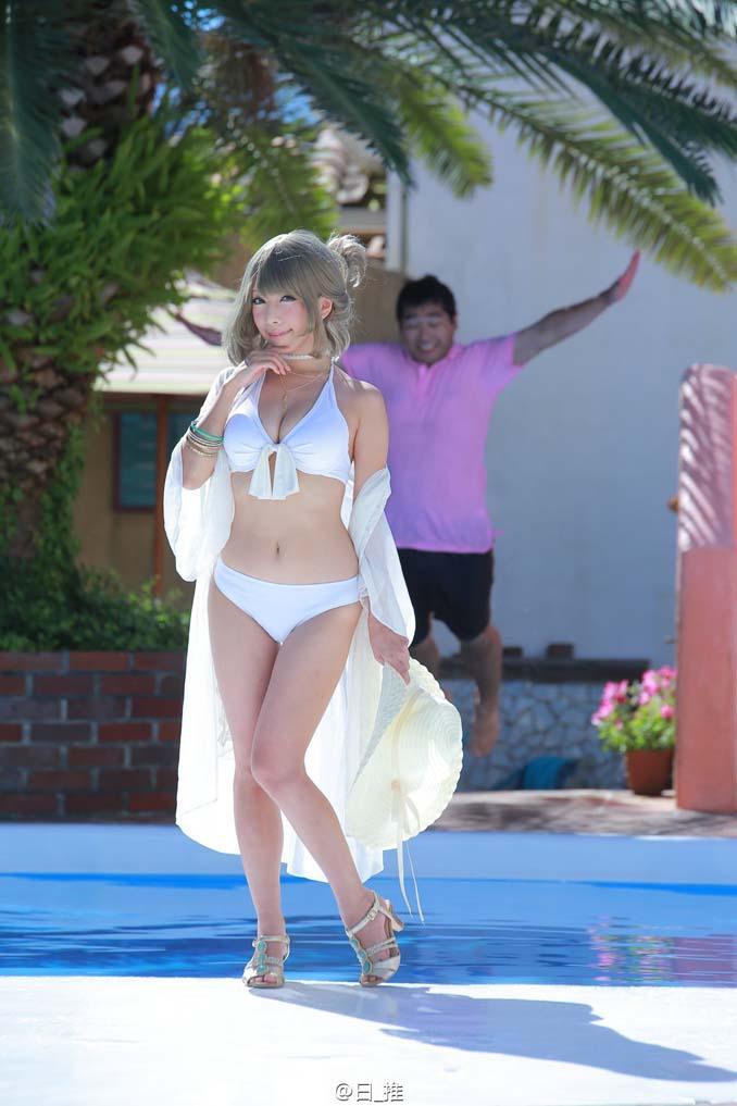 Εντυπωσιακή φωτογράφηση στην πισίνα με ένα απρόσμενο τρικ (1)