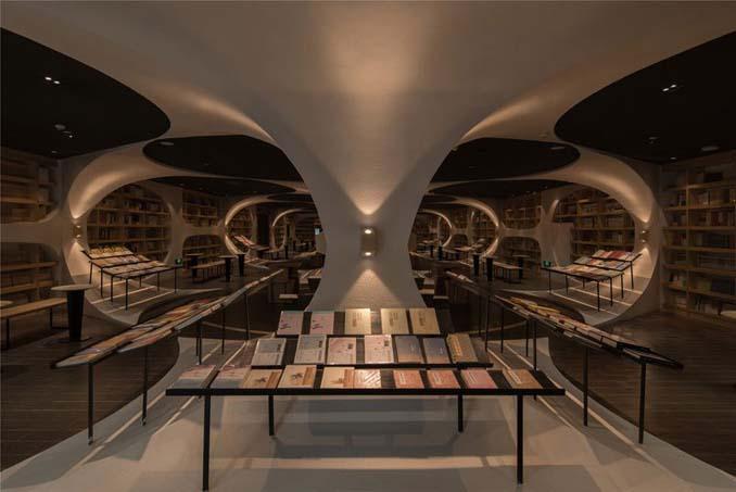 Φουτουριστική βιβλιοθήκη στην Κίνα (2)