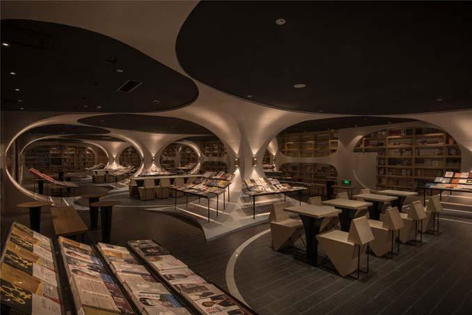 Φουτουριστική βιβλιοθήκη στην Κίνα (4)