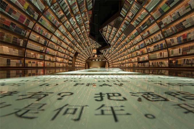 Φουτουριστική βιβλιοθήκη στην Κίνα (6)