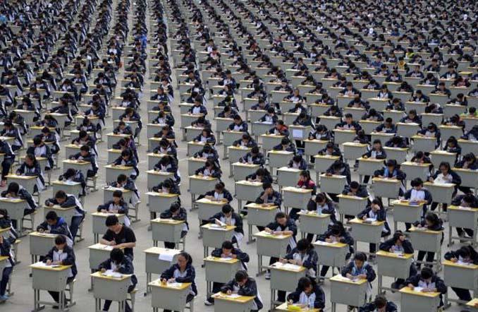 Φωτογραφίες δείχνουν πόσο απίστευτα πυκνοκατοικημένη είναι η Κίνα (4)