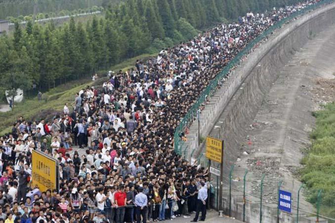 Φωτογραφίες δείχνουν πόσο απίστευτα πυκνοκατοικημένη είναι η Κίνα (7)