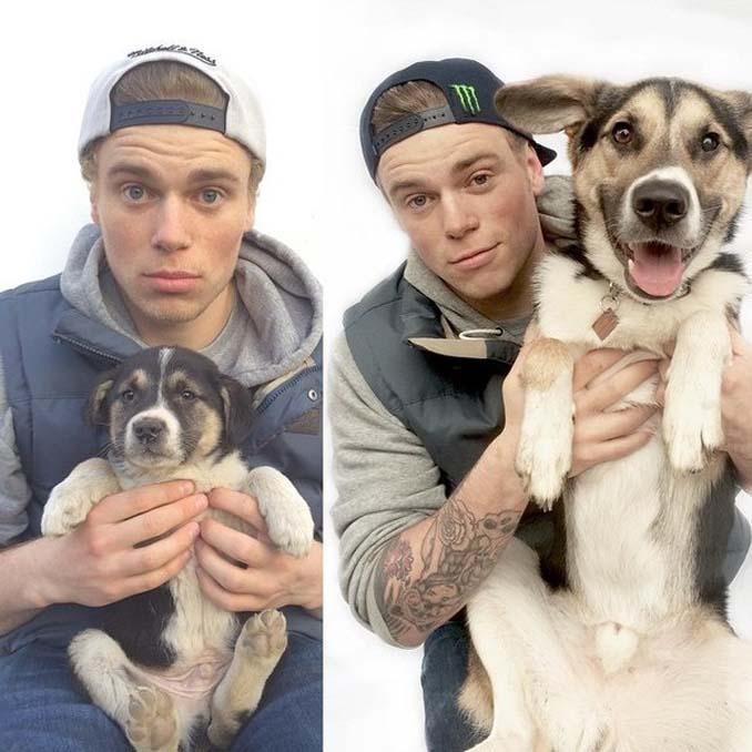 16 φωτογραφίες ζώων πριν και μετά την διάσωση που θα σας φτιάξουν την μέρα (9)