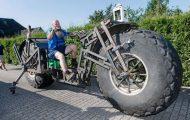 Γερμανός έφτιαξε την βαρύτερη μοτοσυκλέτα στον κόσμο (1)