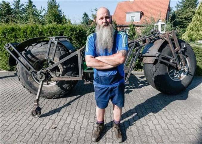 Γερμανός έφτιαξε την βαρύτερη μοτοσυκλέτα στον κόσμο (2)