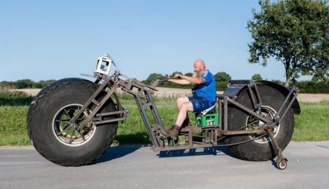 Γερμανός έφτιαξε την βαρύτερη μοτοσυκλέτα στον κόσμο (3)