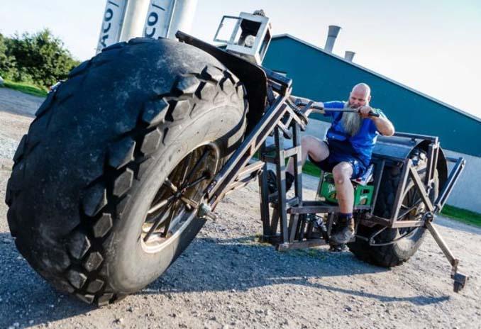 Γερμανός έφτιαξε την βαρύτερη μοτοσυκλέτα στον κόσμο (4)