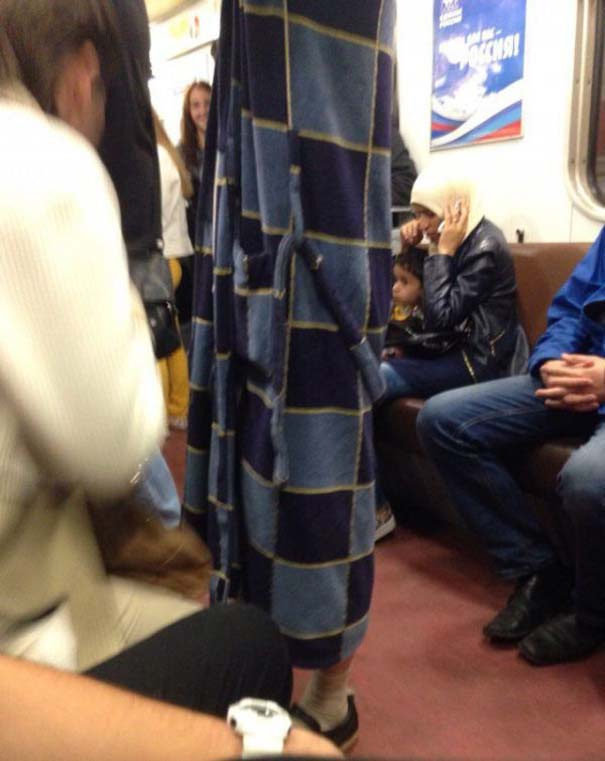 Ξεχωριστές εμφανίσεις στο Μετρό της Αγίας Πετρούπολης (6)