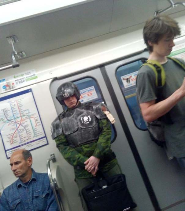 Ξεχωριστές εμφανίσεις στο Μετρό της Αγίας Πετρούπολης (14)