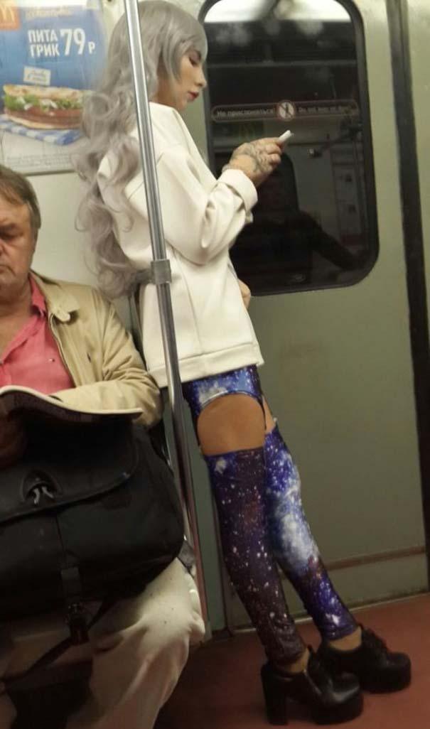 Ξεχωριστές εμφανίσεις στο Μετρό της Αγίας Πετρούπολης (17)
