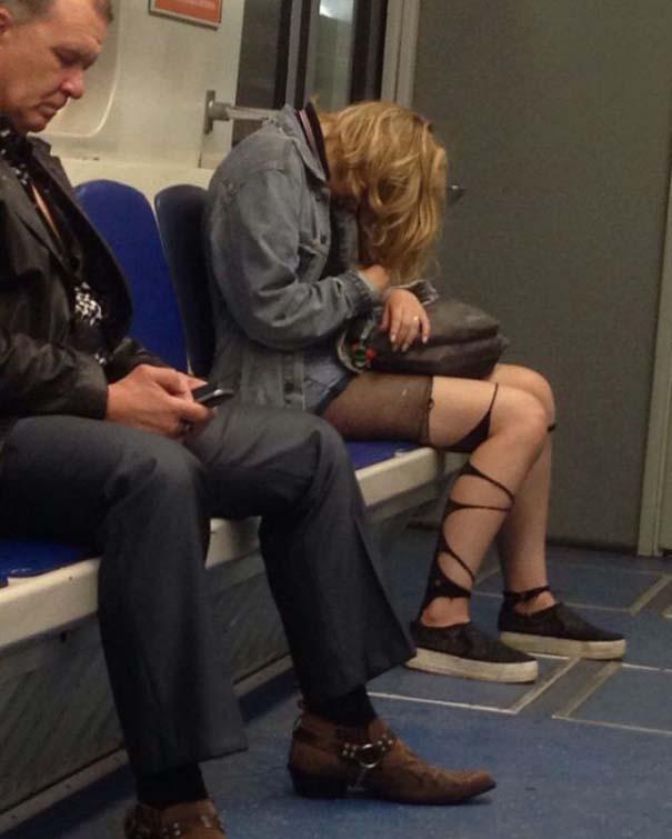 Ξεχωριστές εμφανίσεις στο Μετρό της Αγίας Πετρούπολης (20)