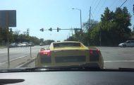 Lamborghini σε απίστευτη γκάφα