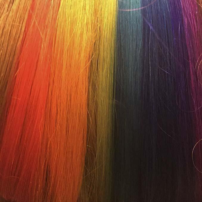 Μαλλιά με κρυμμένο ουράνιο τόξο (4)