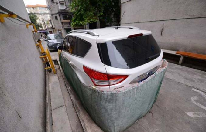 Μπορείτε να μαντέψετε σε τι χρησιμεύουν αυτές οι περιφράξεις αυτοκινήτων; (1)