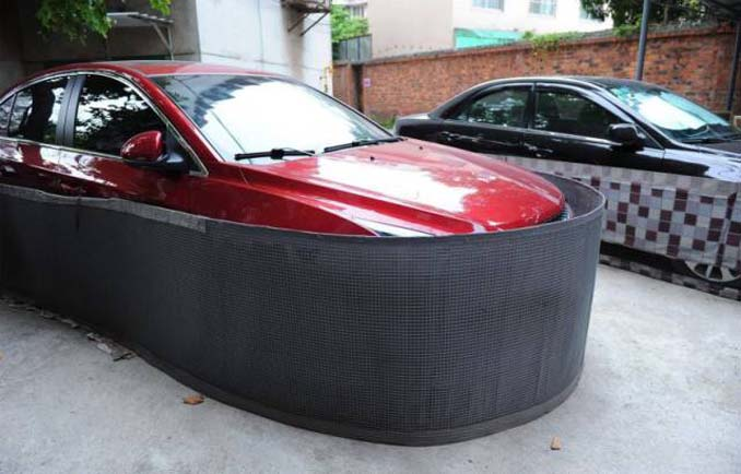 Μπορείτε να μαντέψετε σε τι χρησιμεύουν αυτές οι περιφράξεις αυτοκινήτων; (2)