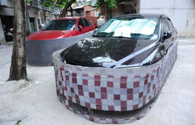 Μπορείτε να μαντέψετε σε τι χρησιμεύουν αυτές οι περιφράξεις αυτοκινήτων; (4)