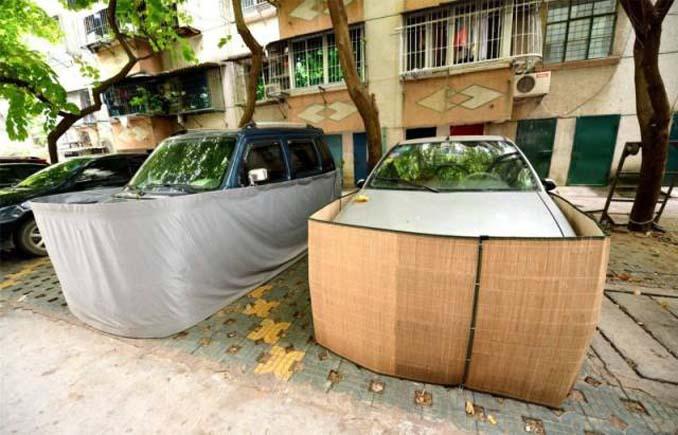 Μπορείτε να μαντέψετε σε τι χρησιμεύουν αυτές οι περιφράξεις αυτοκινήτων; (5)