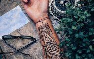 Menna: Η τάση κατά την οποία άνδρες κάνουν περίτεχνα τατουάζ χένα (19)