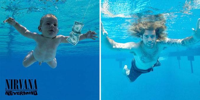 Το μωρό από το εξώφυλλο του άλμπουμ των Nirvana έγινε 25 ετών (2)