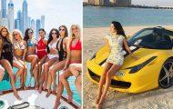 Τα πλουσιοκόριτσα του Ντουμπάι κάνουν «πασαρέλα» στο Instagram (1)