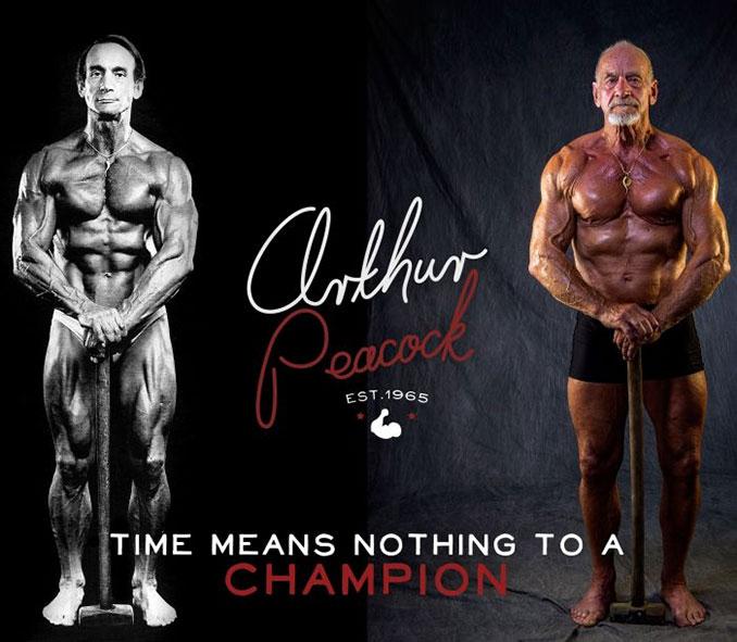 Το σώμα ενός bodybuilder σε ηλικία 40 ετών και 80 ετών (2)