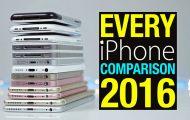 Συγκρίνοντας όλα τα iPhone που έχουν κυκλοφορήσει