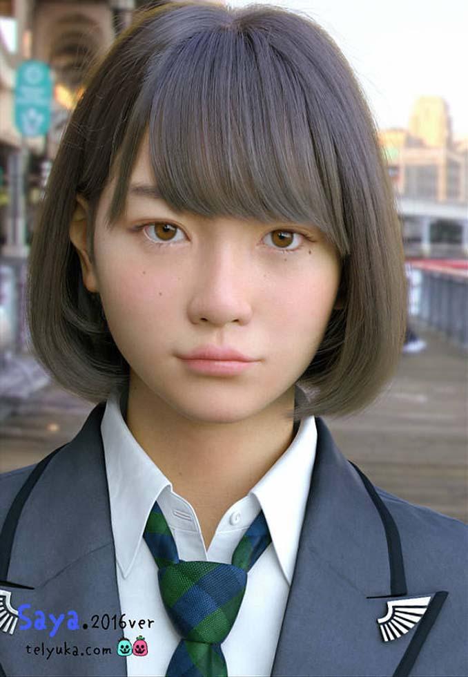 Τι το περίεργο έχει αυτό το κορίτσι από την Ιαπωνία; (1)