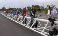 Το πιο μακρύ ποδήλατο στον κόσμο