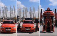Τούρκοι μηχανικοί κατασκεύασαν ένα αληθινό BMW Transformer (1)