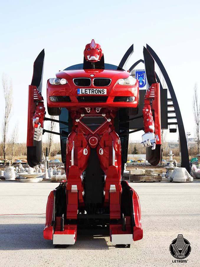 Τούρκοι μηχανικοί κατασκεύασαν ένα αληθινό BMW Transformer (5)