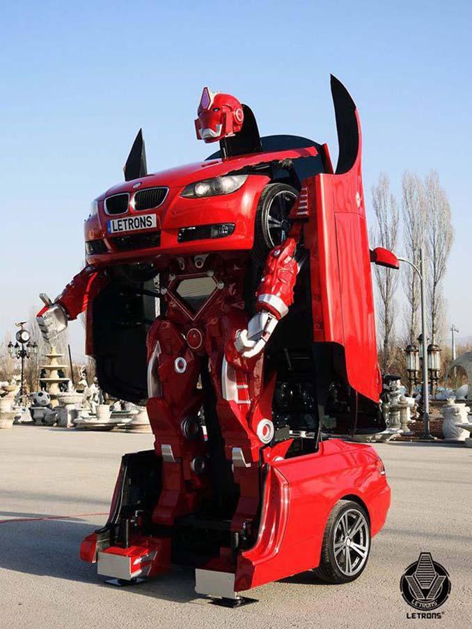 Τούρκοι μηχανικοί κατασκεύασαν ένα αληθινό BMW Transformer (6)