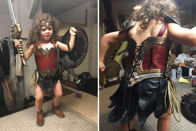 3χρονη Wonder Woman (3)