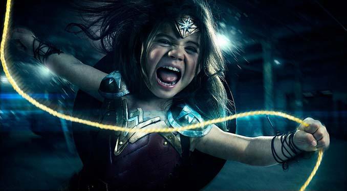 3χρονη Wonder Woman (4)