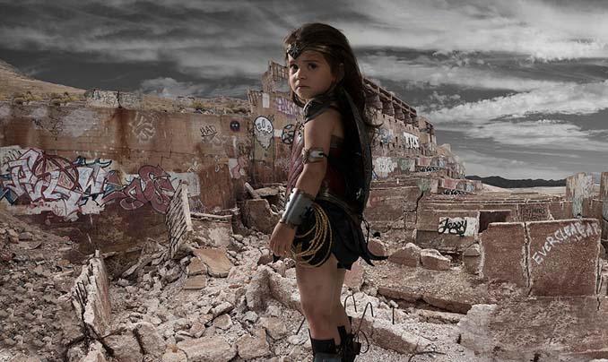 3χρονη Wonder Woman (7)