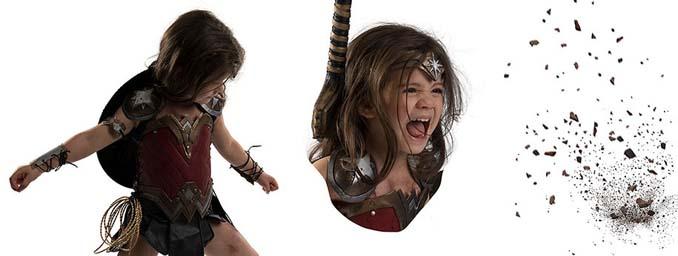 3χρονη Wonder Woman (13)