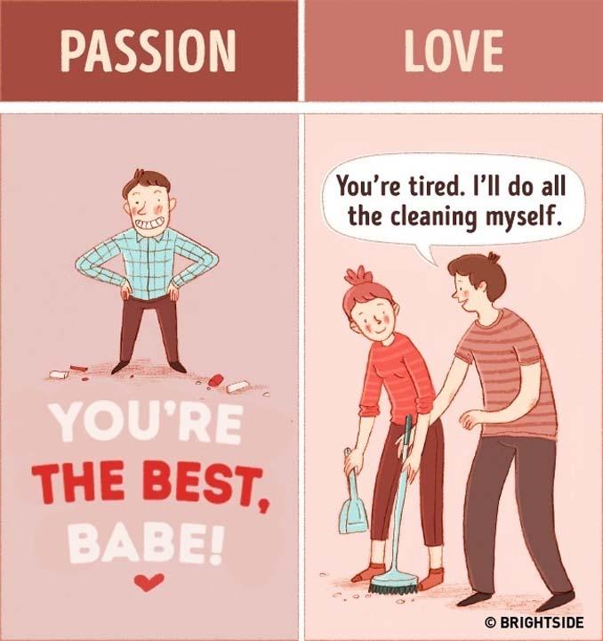 Οι διαφορές μεταξύ έρωτα και αληθινής αγάπης (1)