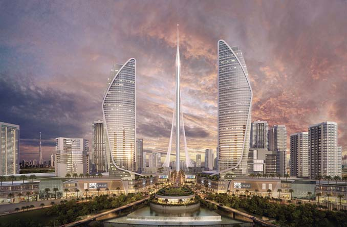 Το Ντουμπάι ξεκίνησε την κατασκευή του νέου ψηλότερου κτηρίου στον κόσμο (2)