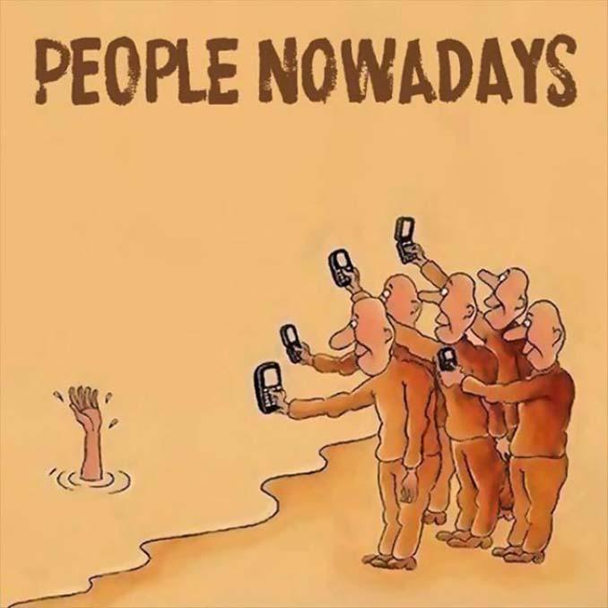Εικόνες που δείχνουν πόσο έχουν επηρεάσει τα κινητά την ζωή μας (11)