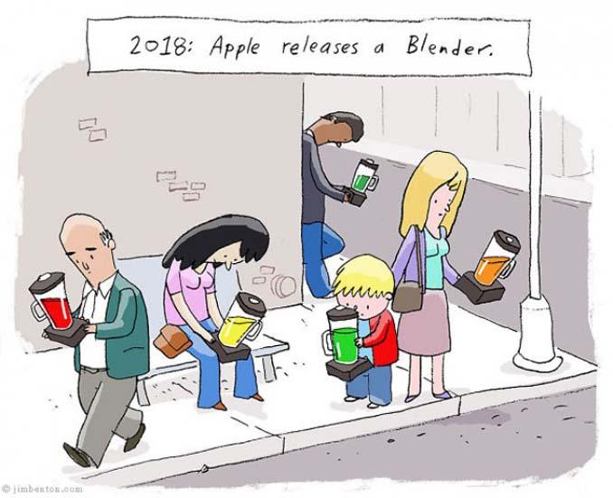 Εικόνες που δείχνουν πόσο έχουν επηρεάσει τα κινητά την ζωή μας (14)