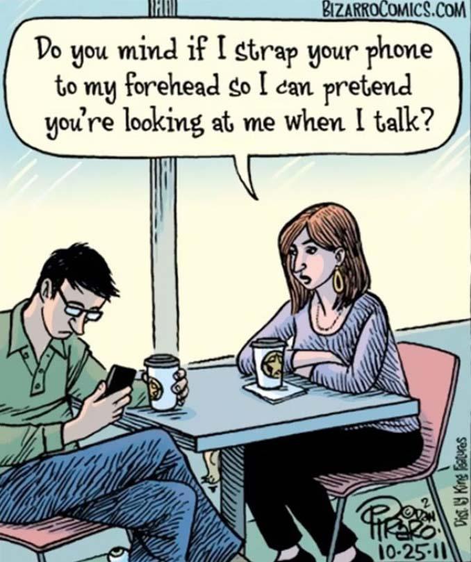 Εικόνες που δείχνουν πόσο έχουν επηρεάσει τα κινητά την ζωή μας (15)