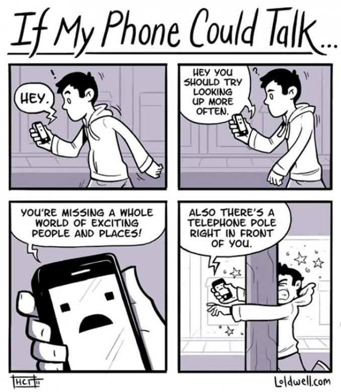 Εικόνες που δείχνουν πόσο έχουν επηρεάσει τα κινητά την ζωή μας (19)