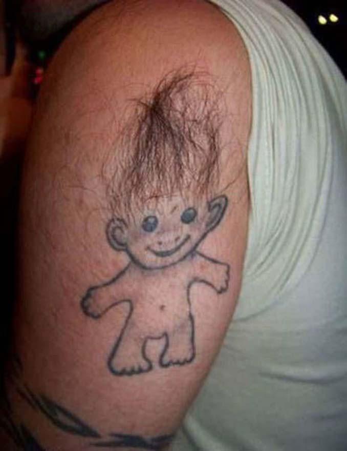 Εκκεντρικά ή αποτυχημένα τατουάζ που σε κάνουν να απορείς (4)