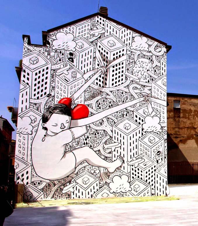 Εκπληκτικά έργα τέχνης του δρόμου που έχουμε δει τελευταία (13)