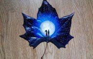 Εκπληκτική τέχνη σε πεσμένα φύλλα (7)