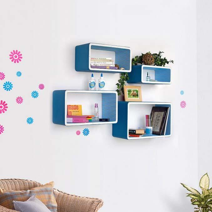 15 εκπληκτικοί τρόποι για να διακοσμήσετε τους τοίχους με φανταστικά ράφια (5)