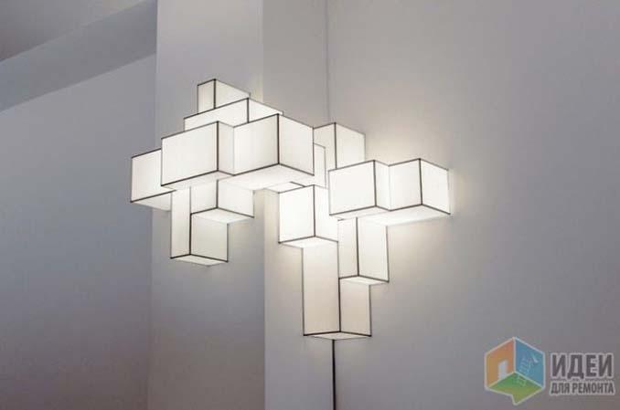 15 εντυπωσιακά φωτιστικά τοίχου που κάνουν ένα σαλόνι μοναδικό (8)