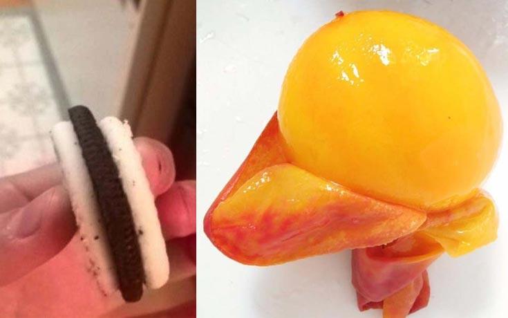 Φωτογραφίες τροφίμων που θα σας κάνουν να νιώσετε λιγάκι άβολα